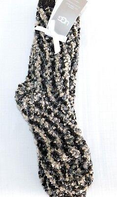 Chenille Womens Socks - NEW WOMENS UGG SEAL GREY UGG COZY CHENILLE CREW SOCKS SIZE 9-11