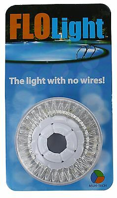 "LED Above Ground Swimming Pool Flo Light Wireless Universal 1.5"" Return FloLight"