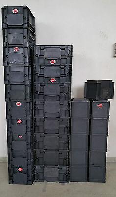 Würth 8x R-KLT 4315, 8x R-KLT 3215, 8x R-KLT 2115, 1xTablar rot Stapelbehälter