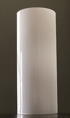 Opal Opaque White Glass Cylinder Tube Shade Chimney Chandelier Sconce Light  White Cylinder Shade