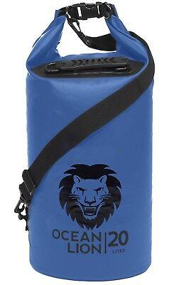 Adventure Lion Premium Waterproof Dry Bags Kayaking, Camping, Boating 20 Liter