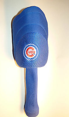 2fe8cb3bf58 Chicago Cubs Used Golf Club Head Cover Fisher Nuts Wrigley Field NICE!  Cubbies