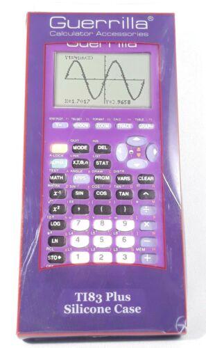 Guerrilla Texas Instruments TI-83 Plus Graphing Calculator Silicone Case Purple