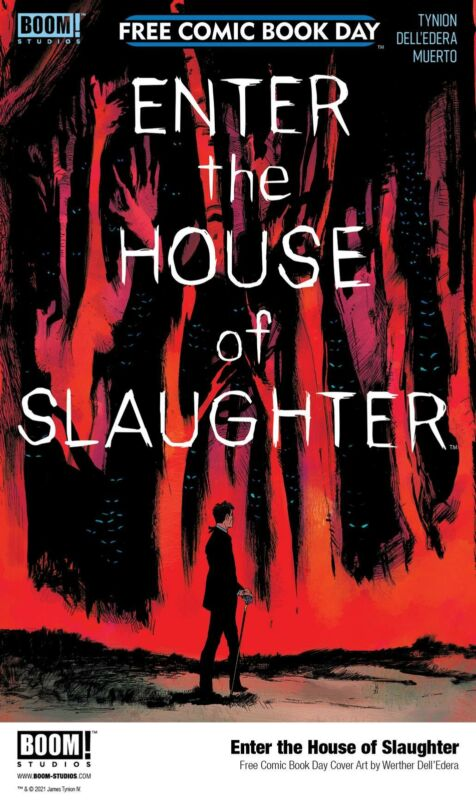 FCBD 2021 ENTER THE HOUSE OF SLAUGHTER NM 6/1 2021 PRESALE