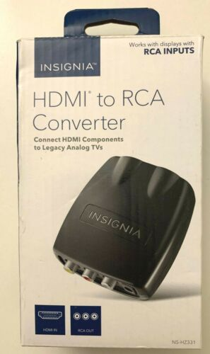 Insignia HDMI To RCA Converter NS-HZ331