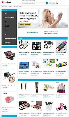 Aliexpress Affiliate Website - Beauty Products Store