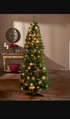 alcove 6' Prelit Pop-Up Decorated Christmas Tree