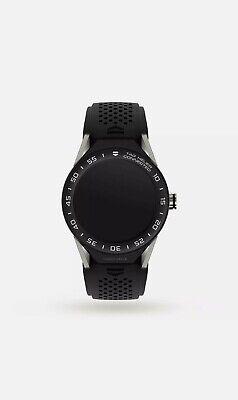 TAG Heuer Connected Ref SAR8A80,46mm Titanium case,Black Rubber Strap Smartwatch