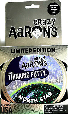 North Star Cosmic Holiday Christmas Crazy Aarons Thinking Putty 3 2Oz