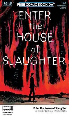 FCBD 2021 ENTER THE HOUSE OF SLAUGHTER #1 NM SOMETHING IS KILLING THE CHILDREN