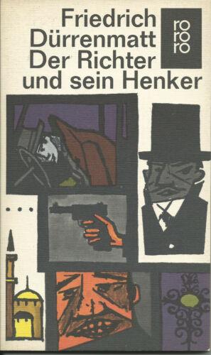 Friedrich Dürrenmatt Der Richter und sein Henker rororo 1979