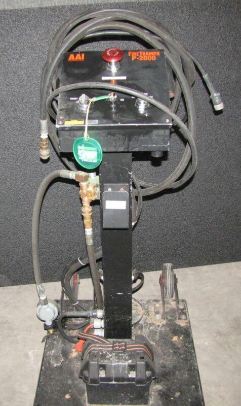 AAI P-2000 FIRE EXTINGUISHER TRAINER INDUSTRIAL TRAINING EQUIPMENT   (#2724)
