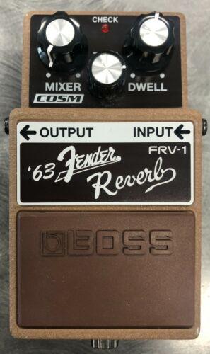 Boss Fender FRV-1 Reverb Guitar Effect Pedal