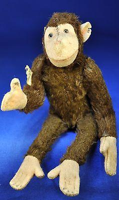 Steiff Schimpanse Affe / Chimpanzee Jocko, 1947-1953, 5315br, U.S. Zone Germany