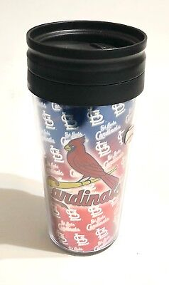 Print Insulated Travel Mug (St. Louis Cardinals Metallic Print Insulated Travel Tumbler Cup Mug 16oz - New)