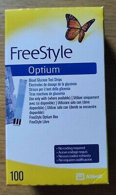 Tiras reactivas FreeStyle Optium