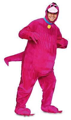 Karneval Kostüm Unisex Tier Herren pink Dino Saurier Drachen Urzeit Fred Comic