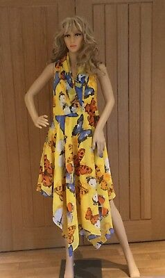 Bodyflirt Yellow Monroe Dress Size 16 RRP£50..ONLY..9.99..BARGAIN - Buy Yellow Dress