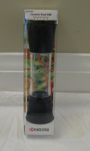 Kyocera Advanced Ceramic Dual Adjustable Spice Mill-NEW