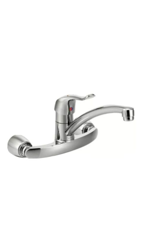 Kitchen Faucet,Cast Metal,3/4 In MOEN COMMERCIAL 8713
