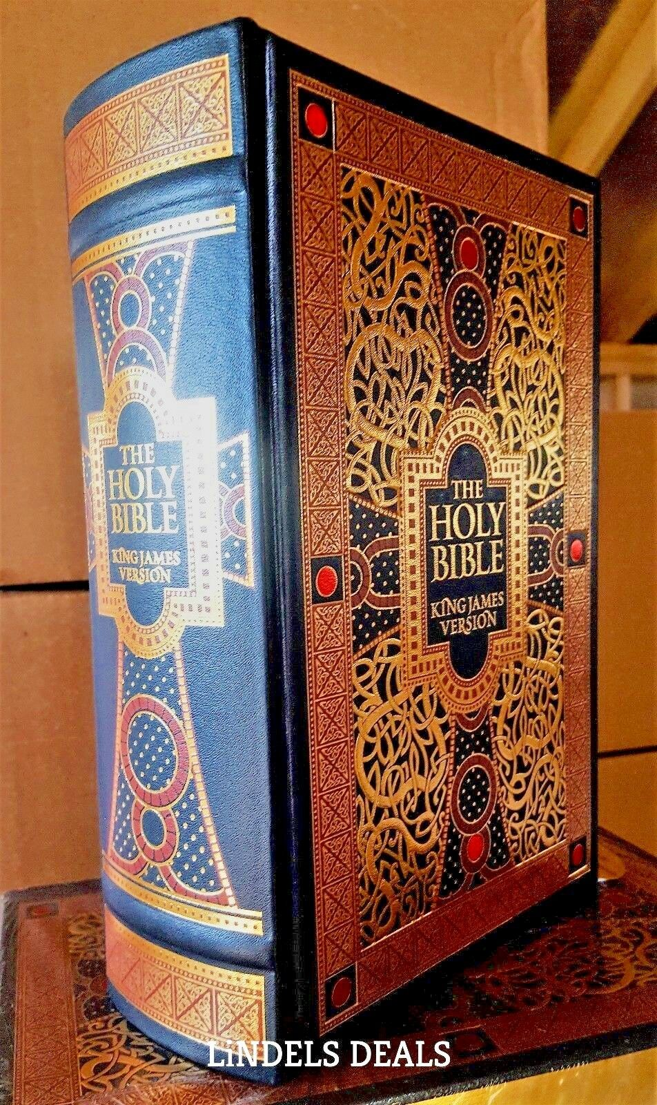 The Holy Bible King James Version Gustave Dore Illustrated Leather Bound