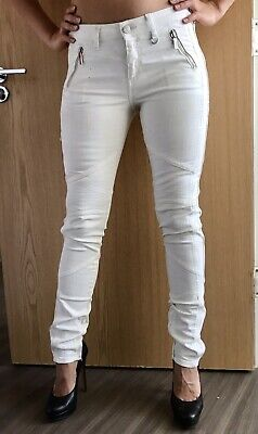 Karl Lagerfeld White Jeans Trousers UK 8