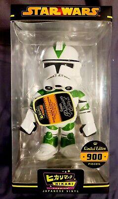 Funko Hikari CLONE TROOPER 442ND SIEGE Green Stripe STAR WARS- LE 900. RARE