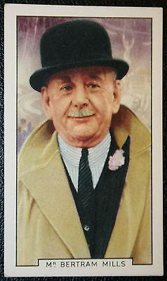 Bertram Mills   Circus Owner    Vintage Card  VGC