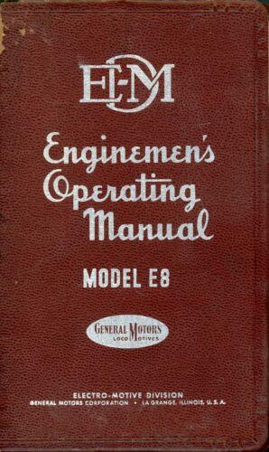 RR E8 Operating Manual