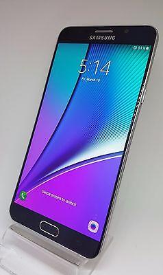Samsung Galaxy Note 5 SM-N920A 32GB Black AT&T FACTORY UNLOCKED 8780