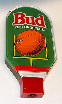 Budweiser Lucite Football Beer Tap Handle/Knob