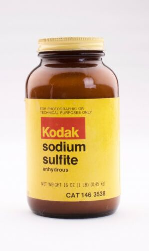 Kodak Sodium Sulfite Anhydrous Film Development Chemicals