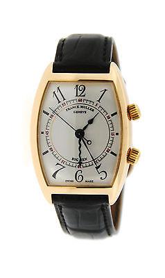 Franck Muller Curvex Big Ben 18K Yellow Gold Watch 2852 AL