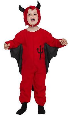 l Devil 98/104 Kleinkind Hölle 2-3 Jahre Teufelskostüm Satan (Kleinkind Jungen Teufel Kostüm)