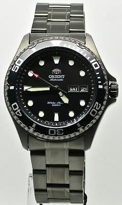 Orient Ray Raven II FAA02003B9 Black Ion Plated Stainless Steel Men's Watch
