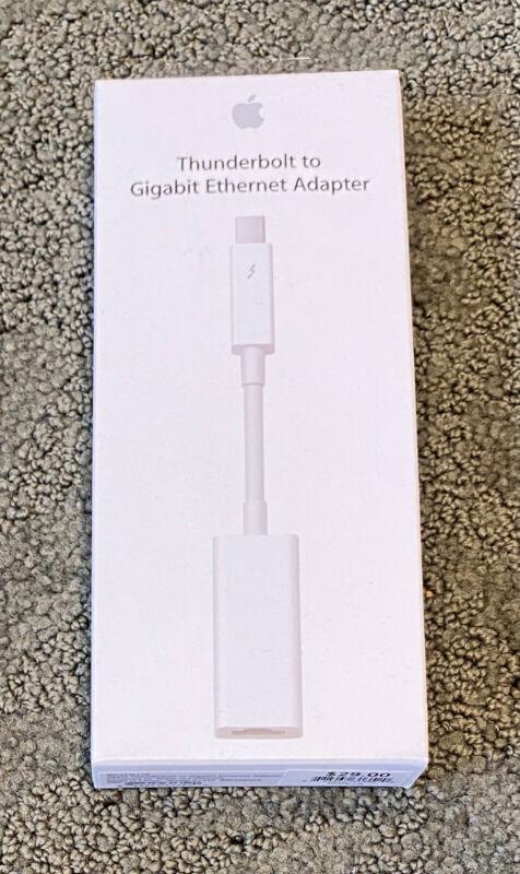 NEW Apple Thunderbolt to Gigabit Ethernet Adapter - Never opened!