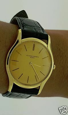 Vacheron & Constantin Watch 18K YG Ultra Thin papers Model. 4962 V & C