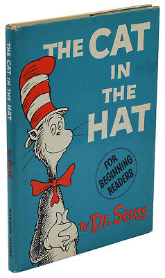 The Cat in the Hat ~ by DR. SEUSS ~ First Edition 1st Printing 1957 ~ 200/200 DJ