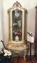French Shabby Chic Rococo Vitrine, China Cabinet, Display Cabinet Sydney City Inner Sydney Preview