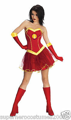 Avengers Age of Ultron Iron Man Rescue Female Costume Marvel Comics MED 820013