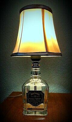 """JACK DANIELS Single Barrel  """"BARREL PROOF""""  Bottle Lamp for sale  Plano"""