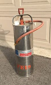 Vintage Fire Extinguisher from 1965 -$30 obo