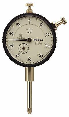 Mitutoyo 2416s Dial Indicator 0-1 Range .001 Graduation