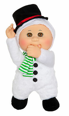"Cabbage Patch Kids Cuties Doll: 9"" Holiday Helpers Collection - Rudy Snowman"