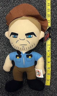 Peek A Boo Toys The Walking Dead Series 1 Rick Grimes Plush Toy 10 Inches NWT  - Halloween Dead Smurf