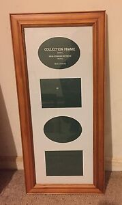 Timber picture frame with mount Avondale Heights Moonee Valley Preview