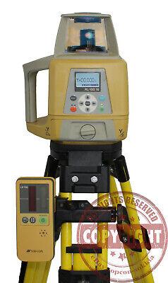 Topcon Rl-100 1s Rotary Slope Laser Levelgrade Transit Spectra Trimble