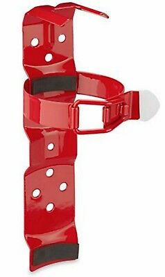 Fire Extinguisher Bracket - 2 12 Lb. Standard Vehicle Mount - Red