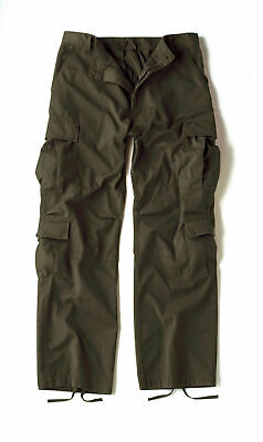 2786 rothco Olive Drab Vintage Military Paratrooper Tactical BDU Fatigue Pants  - Bdu Oliv Drab