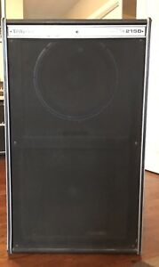 Traynor 2x15 eminence speakers